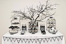 Home Decorating Ideas Black And White 10 Black And White Halloween Decorating Ideas Celebrations At Home