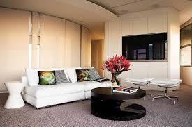 Contemporary Livingroom Living Room Cool Modern Round Table For Awesome Small And Simple
