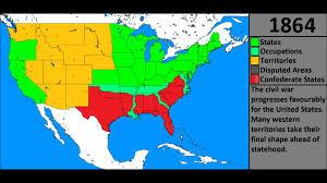 Confederate States Map by Evolution Of The United States Youtube