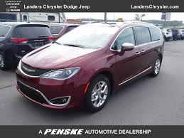 2018 new chrysler pacifica limited fwd at landers chrysler dodge