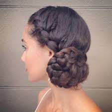 collections of side bun hairstyles with braid cute hairstyles