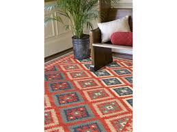Blue Area Rugs 5x8 Jaipur Rugs Rug100174 Floor Coverings Flat Weave Tribal Pattern