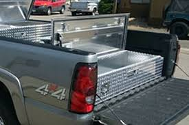 Slide Out Truck Bed Tool Boxes In Bed Sliding Tool Box Com Grade Tool Boxes For Trucks Vans And