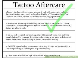 tattoo care swimming how to be calm whilst getting a tattoo 12 steps with pictures