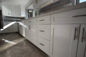 White Kitchen Cabinets Shaker Style Sleek White Shaker Cabinets Are Perfect For Modern Kitchen