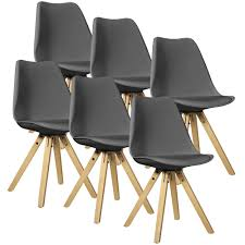 Armlehnstuhl Holz Esszimmer Stuhl Plastik Holzbeine Möbelideen