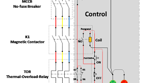 100 wiring diagram for direct online starter how do i