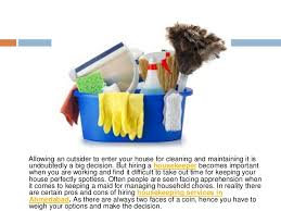 hiring a housekeeper pros and cons of hiring a housekeeper