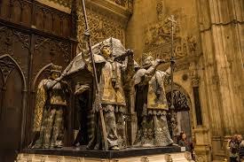tomb of christopher columbus sevilla spain travel past 50
