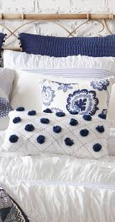 White Bedroom Furniture Blue And White Bedroom Blueandwhitebedroom Kim E Courtney