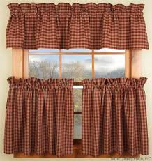 Country Porch Curtains Andover Curtain Valances And Tiers Are Part Of The American