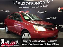 toyota lexus used car used red 2005 toyota echo auto review stettler alberta youtube
