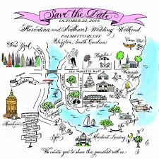 Map Of Wellington Florida by Carla Hagan Calligraphy Engraving And Designs