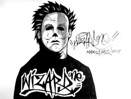 how to draw michael myers 2015 for halloween youtube