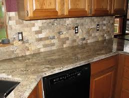 ideas for kitchen backsplash with granite countertops santa cecilia granite tile backsplash home design ideas kims