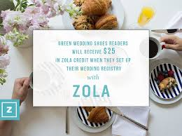 where to wedding registry create a personalized wedding registry with zola green wedding