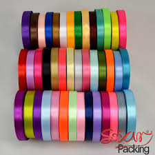 cheap satin ribbon 1 2 12mm satin ribbon mix colors gift ribbon rope chirstmas