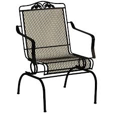 ideal wrought iron chair for your home decor ideas with additional