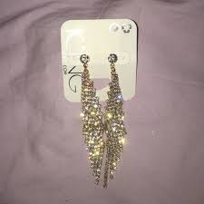 icing cartilage earrings 29 s jewelry icing gold thin sparkly earrings