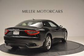 maserati granturismo 2015 black 2015 maserati granturismo sport stock w489a for sale near