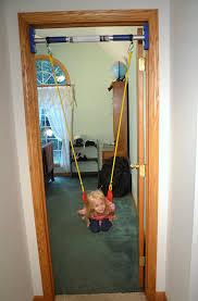 amazon com rainy day playground indoor strap swing to be used