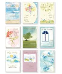 buy assorted handmade embellished birthday cards 8 pack box set