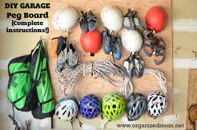 organize your outdoor gear diy peg board the organized mom