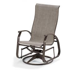 Gliding Chair Telescope Casual Cape May Sling Patio Supreme Swivel Glider Dining