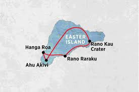 Easter Island Map Easter Island Experience Independent Chile Tours Peregrine