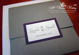 wedding pocket invitations purple and silver wedding invitation u2013 a vibrant wedding