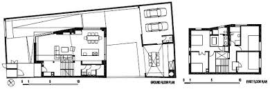 modern family house boasting an irregular geometric design by dva