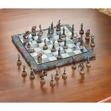 beautiful chess sets a civil war chess set is a beautiful display piece for a home