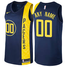 jersey design indiana pacers cheap customized men s authentic jersey nba indiana pacers navy