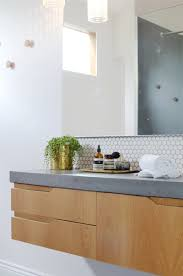 black hill house by caitlin perry concrete benchtop white