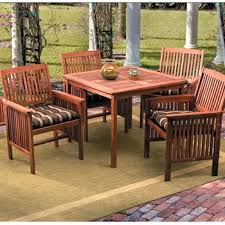 patio wooden patio furniture for sale round wooden patio table