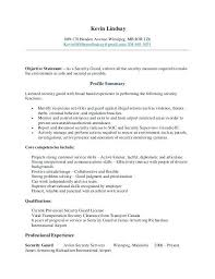 security guard sample resume remarkable security guard cover