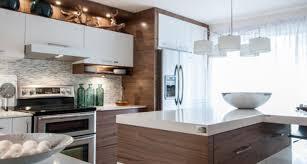 cuisine blanc et noyer cuisine noir et noyer photos de design d intérieur et décoration
