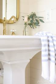 Powder Room With Pedestal Sink How To Make The Most Of A Small Powder Room