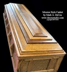 how to build a coffin mission decou style burial casket how to build your own casket by