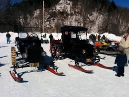 taking a spin on vermont u0027s vintage snowmobiles vermont public radio