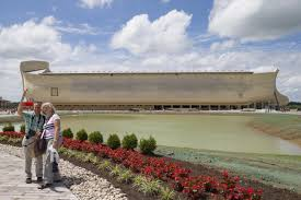 noah u0027s ark sister exhibit to creation museum opens to throngs in