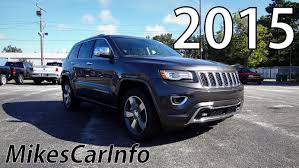 jeep laredo 2015 2015 jeep grand cherokee overland ultimate in depth look youtube