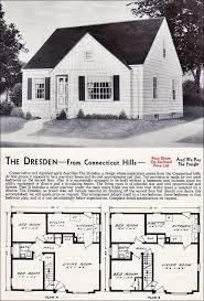 1940s cape cod floor plans 103 best vintage homes company floor plans mail order