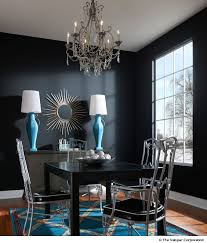 Dark Dining Room How To Decorate With Dark Paint Dark Wall Paint Colors