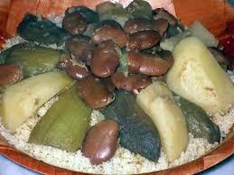 cuisiner des feves seches recette de couscous aux aubergines féves séches et pommes de terre d