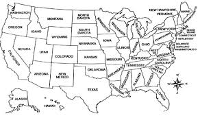 united states map with states on it new york united states map united states map with rivers and