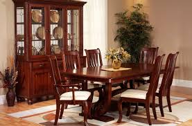 Solid Wood Formal Dining Room Sets Rockingham Formal Dining Furniture Set Countryside Amish Furniture