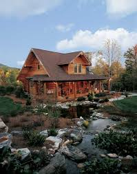 Log Home Styles A Log Cabin In North Carolina Perfect For Outdoor Log Home Living