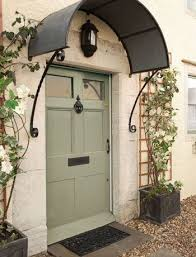 Building Awning Over Door Best 25 Front Door Awning Ideas On Pinterest Metal Awning