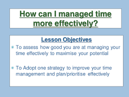 all worksheets time management for high students